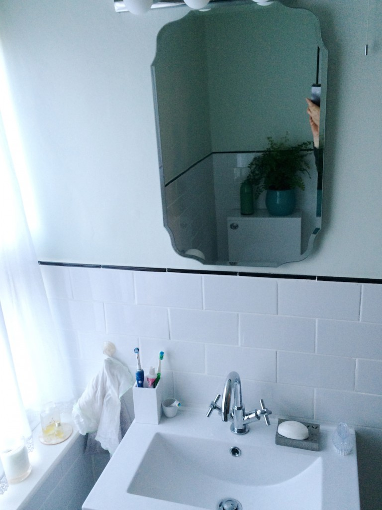 It's really hard taking a photo of a mirror without being in the photo.